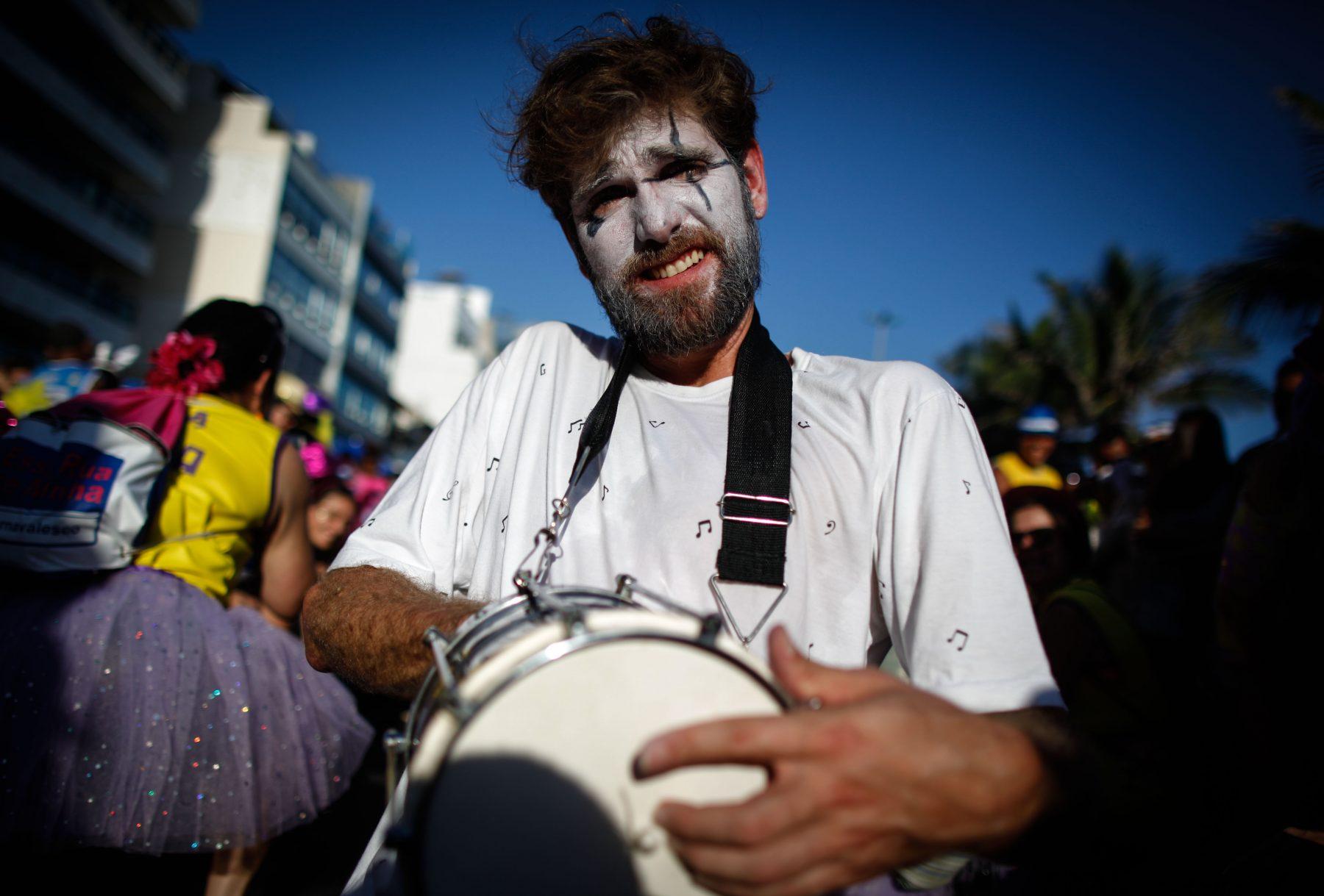 Carnaval Simpatia quase amor. Foto de Alex Ribeiro/ Agif/ AFP