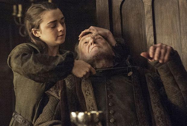 Arya assassina todo o clã Frey: vingança pelo Casamento Vermelho (Foto reprodução)