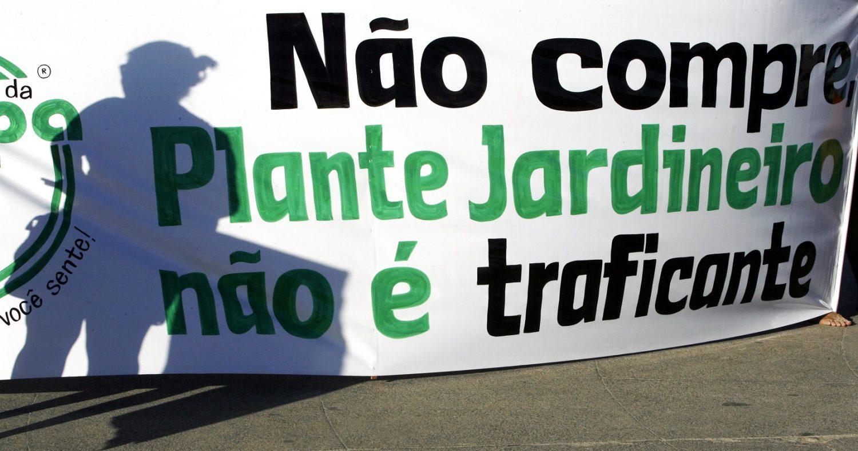 Manifestação em Ipanema pela legalização da maconha. Foto Vanderlei Almeida/AFP