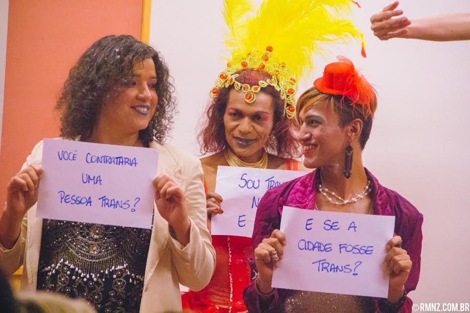 Trans no Mulheres Rodadas. Foto de Divulgacao