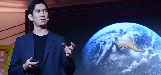Dex Barton: palestra no evento Teia (Foto de divulgação/GNT)