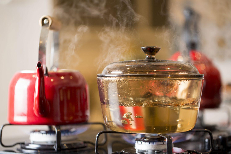 Para não oxidar, o chá tem que ser feito em artefatos de porcelana, vidro, louça, de ágata ou esmaltados (Foto de Simone Marinho)