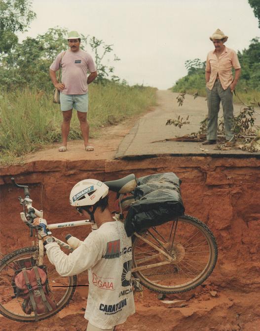Imagem do percurso feito na Transamazônica em 1992. Foto/ Transamazonica25