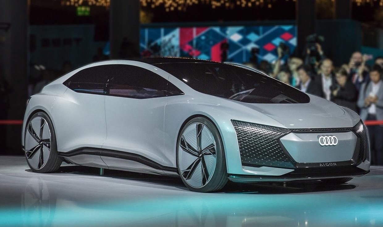O Audi Aicon (Artificial inteligence concept) é outro que já incorpora o motorista-robô aos motores elétricos. Foto Divulgação