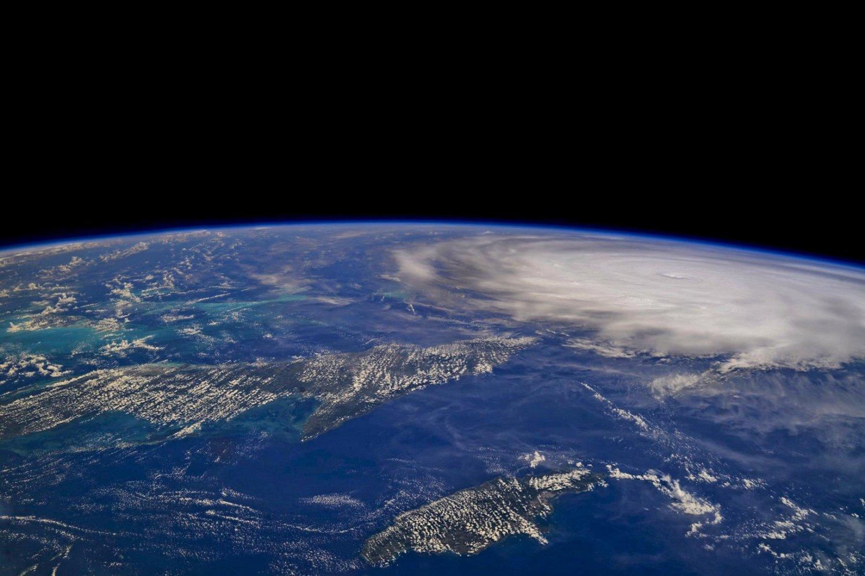 O furacão Irma visto do espaço. Foto NASA