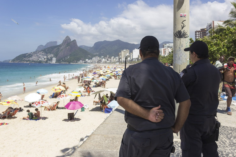 O policiamento na Orla na cidade é uma das prioridades do Plano Estratégico. Foto Luiz Souza (NurPhoto)