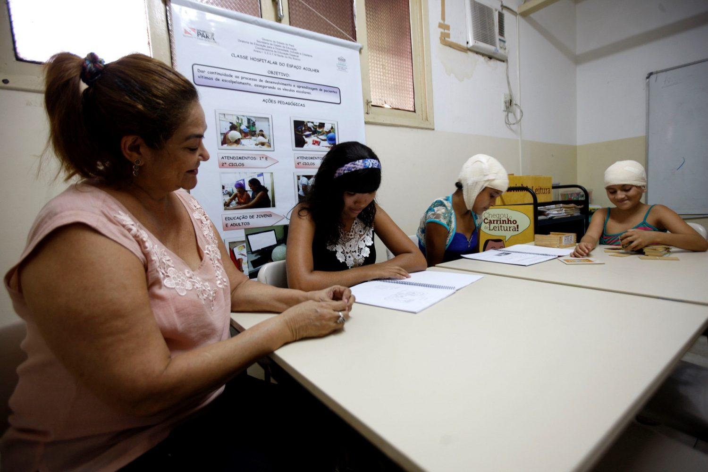 No Espaço Acolher, que existe desde 2006, elas são acompanhadas por psicólogos e assistentes sociais. Foto Rodolfo Oliveira/Agência Pará