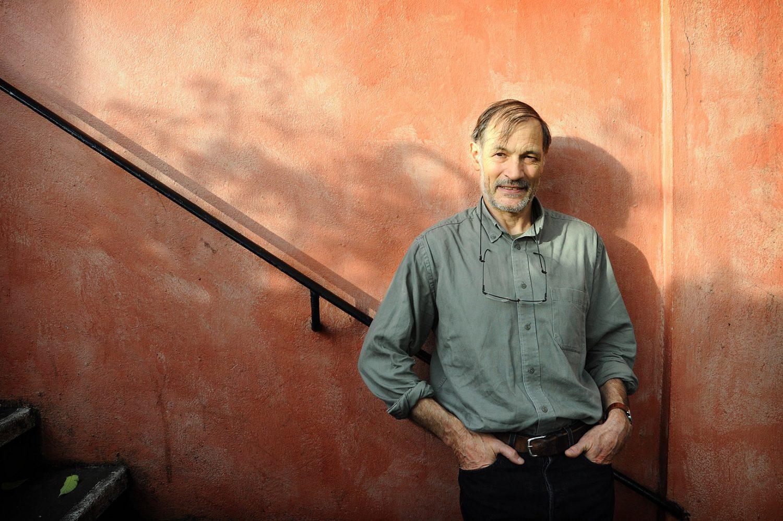 David Le Breton, filósofo e antropólogo dos pedestres do mundo. Foto Gattoni/Leemage