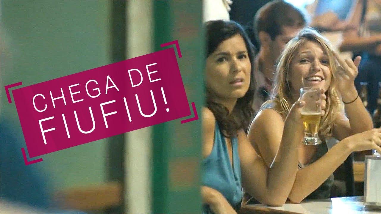 """Cartaz da campanha """"Chega de Fiu Fiu"""", contra o assédio sexual, lançada pelo site Think Olga. Foto Divulação"""