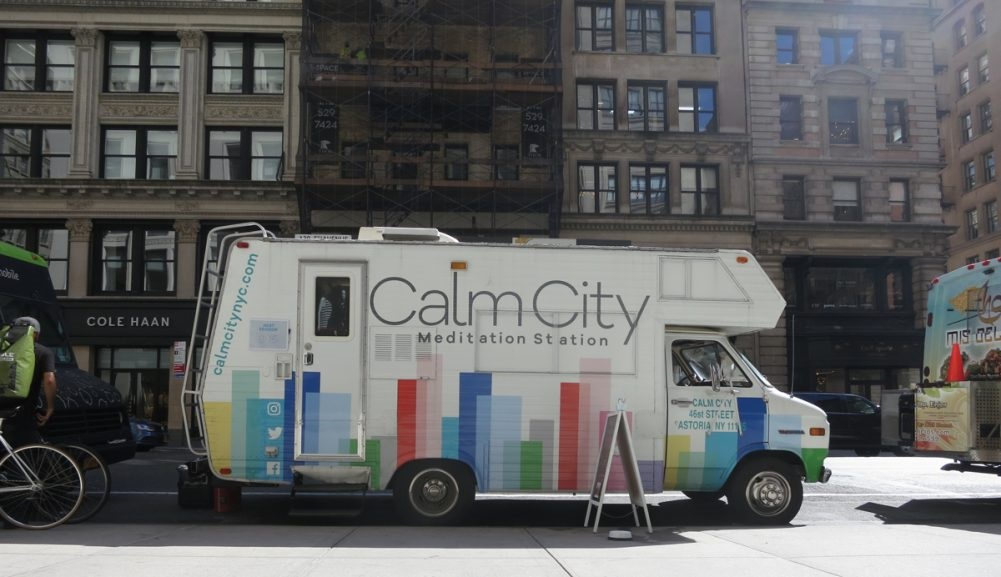"""O projeto """"Calm City"""", em Nova Iorque. Foto Divulgação"""