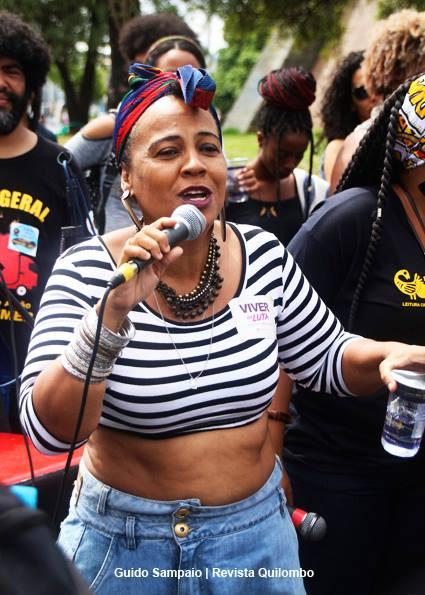 Sandra Muñoz, da Casa Lilás: ela usa o próprio dinheiro para abrigar as pessoas (Foto de divulgação)