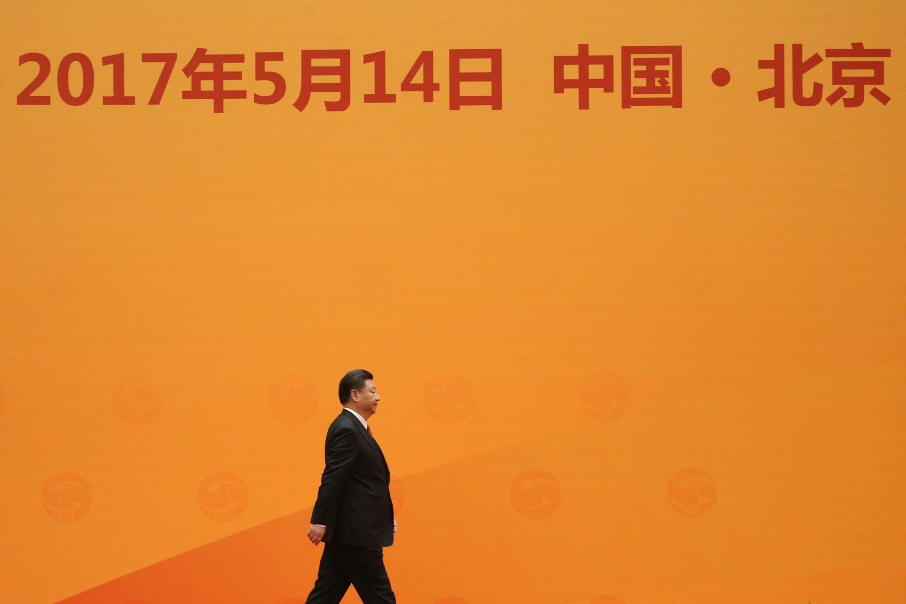 Encontro na China. Pool/ AFP