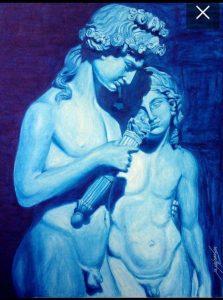 Obra de Marcio Milman, que compõe a exposição/ Divulgação