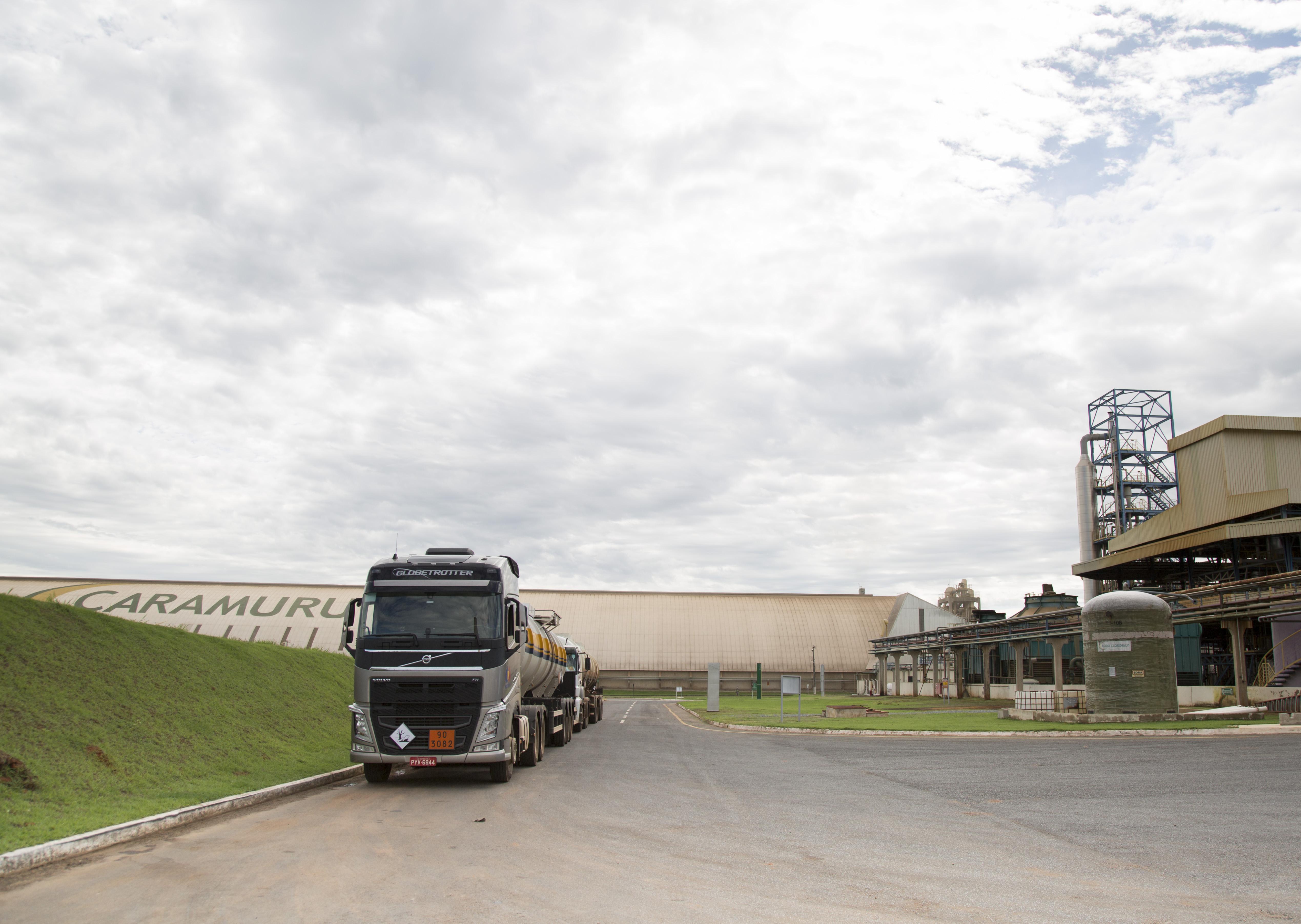 Caramuru, uma das grandes empresas do setor de biodiesel. Foto de Simone Marinho