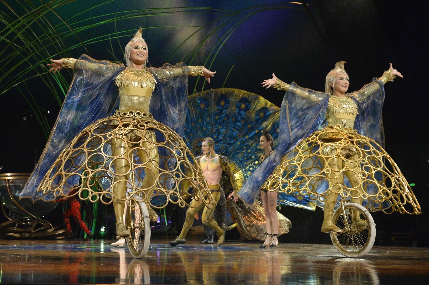A temporada carioca do espetáculo 'Amaluna', do Cirque du Soleil, começa no dia 28. Foto Levi Bianco/Brazil Photo Press