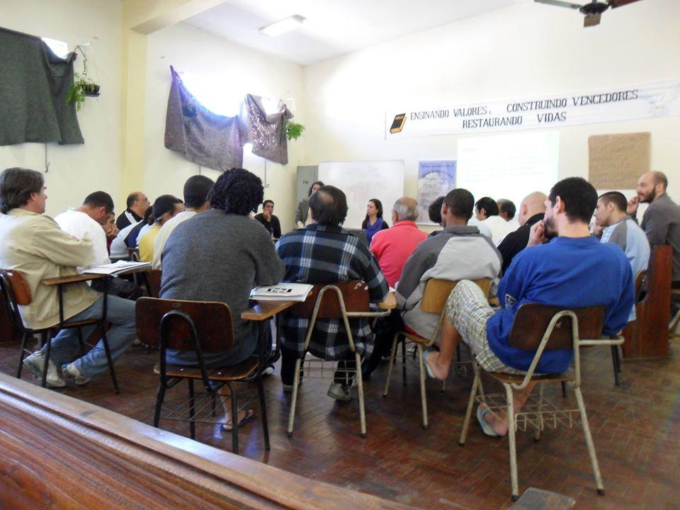 Curso de Justiça Restaurativa no Rio Grande do Sul, na Pastoral Carcerária (Foto Divulgação/Agência CNJ)