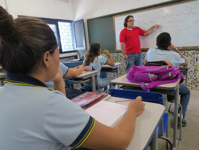 Governo do estado diz que valorização do professor é um dos trunfos no Ceará (Foto Rosane Gurgel/Seduc/CE)