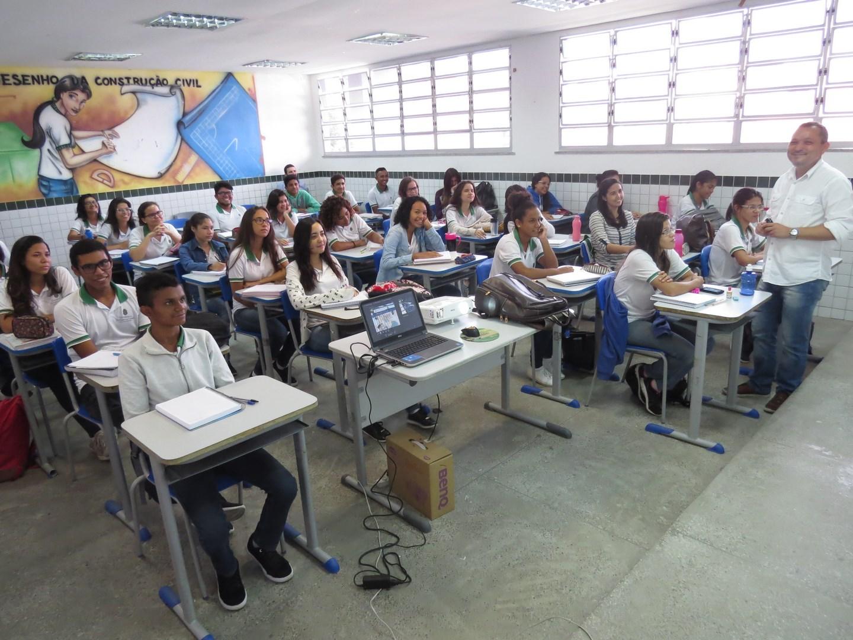 Rede estadual do Ceará: investimento em escolas de tempo integral (foto Rosane Gurgel/Seduc/CE)