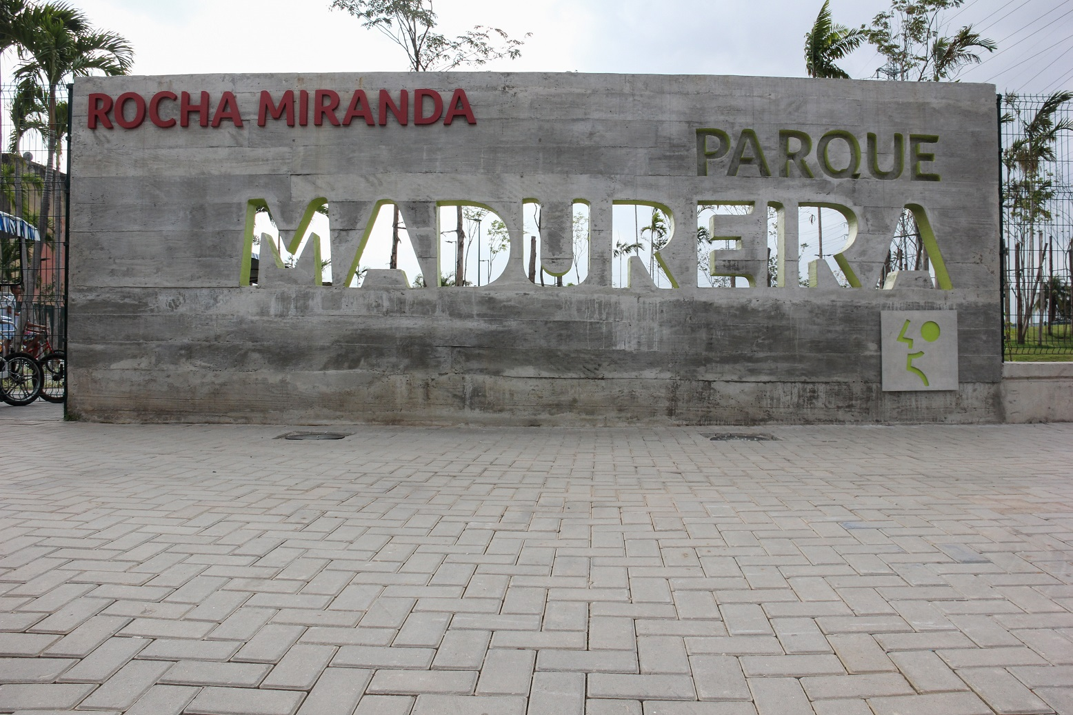 A entrada do Parque de Madureira. Foto Luiz Souza/NurPhoto