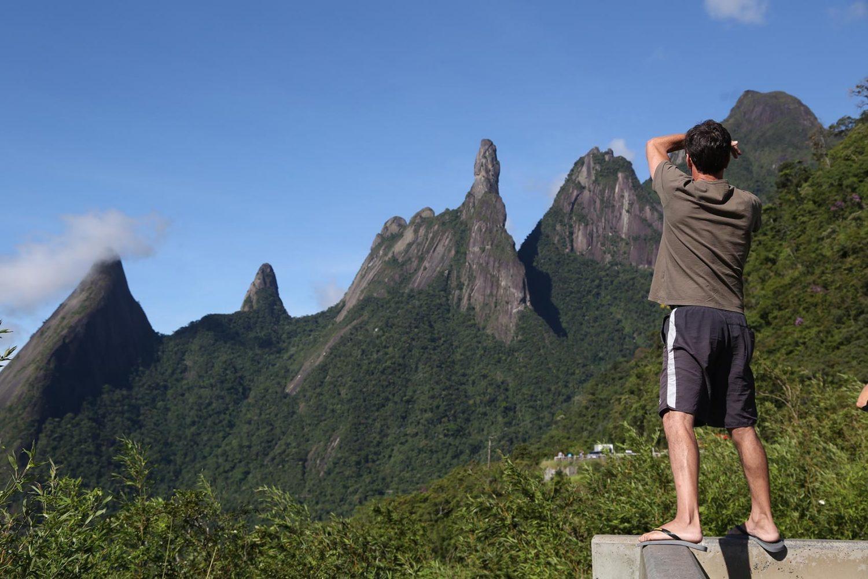 O Dedo de Deus é uma das garantias simbólicas de segurança na Região Serrana. Foto Custódio Coimbra