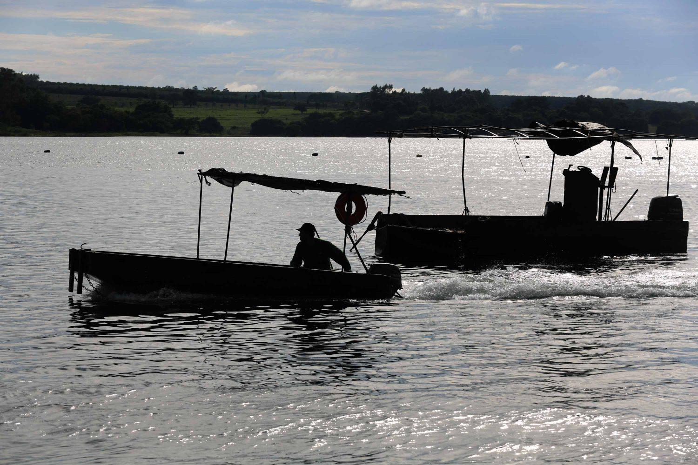 Psicultura: qualidade da água é importante para a atividade (Foto: Fernando Maia)