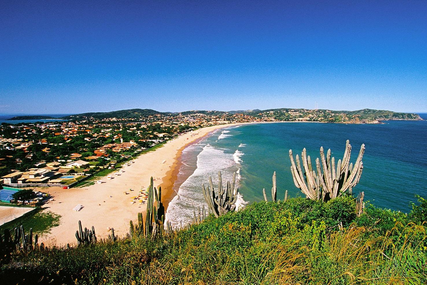A bela praia de Geribá, em Búzios, foi a única escolhida por todos os especialistas. Foto Sérgio Quissak