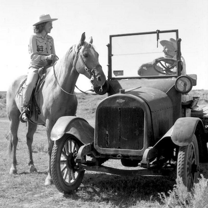 A primeira Picape Chevrolet. Foto Divulgação