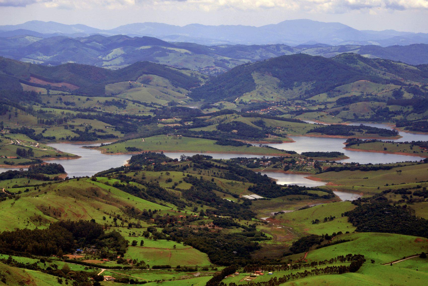 Vista de Extrema do sistema Cantareira. Foto de Mirian Fichtner