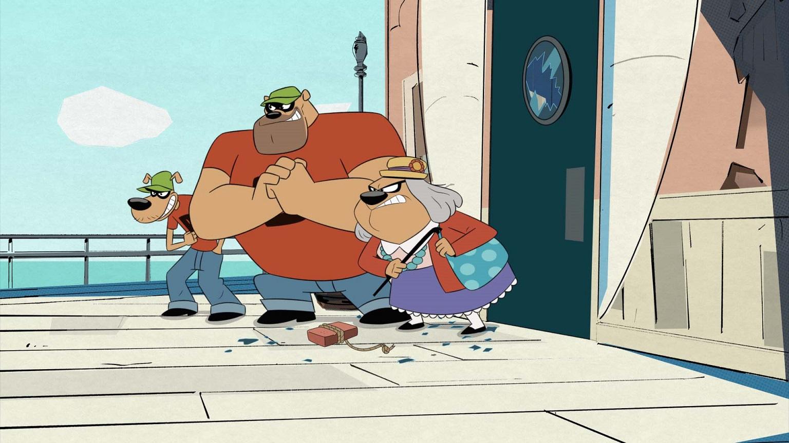 Os Irmãos Metralha. os mais famosos ladrões do mundo. Imagem Disney XD