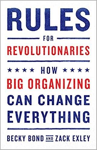 Capa do livro de Zack Exley, ex-consultor político de Bernie Sanders. Foto Reprodução