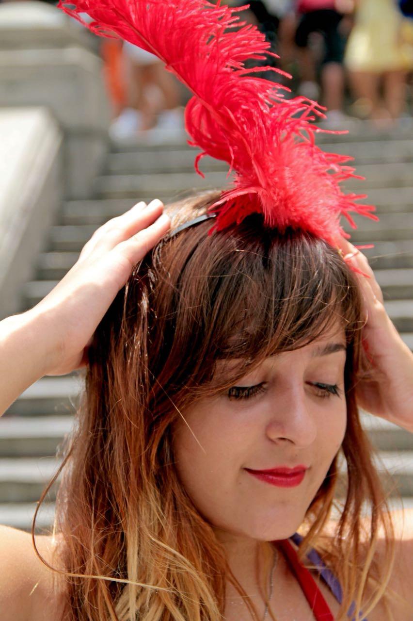 Julianna Mello, 24 anos, estudante de arquitetura