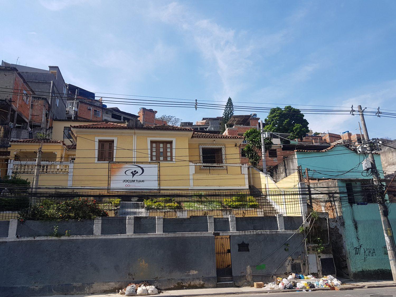 Morro do Tuiuti: ninho da escola-sensação do carnaval (Foto Oscar Valporto)