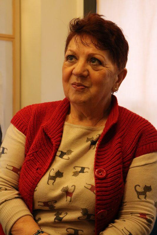 Juliana Busto, presidente da Associação de Vítimas do Amianto. Foto Janaína Cesar