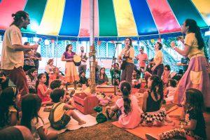 O Grupo Corre Cutia: atividades para as crianças. Foto de divulgação