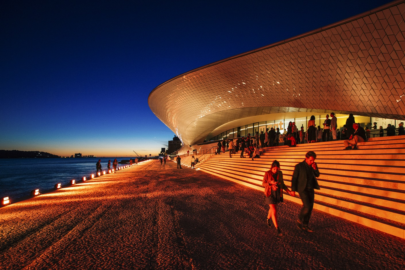 Em seu primeiro ano, o Maat recebeu mais de meio milhão de visitantes e abrigou 23 exposições de 432 artistas. Foto Paulo Coelho/EDP Foundation