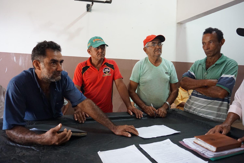 Segue a luta: o grupo de agricultores que não desistiu das terras (Foto Alicia Prager)