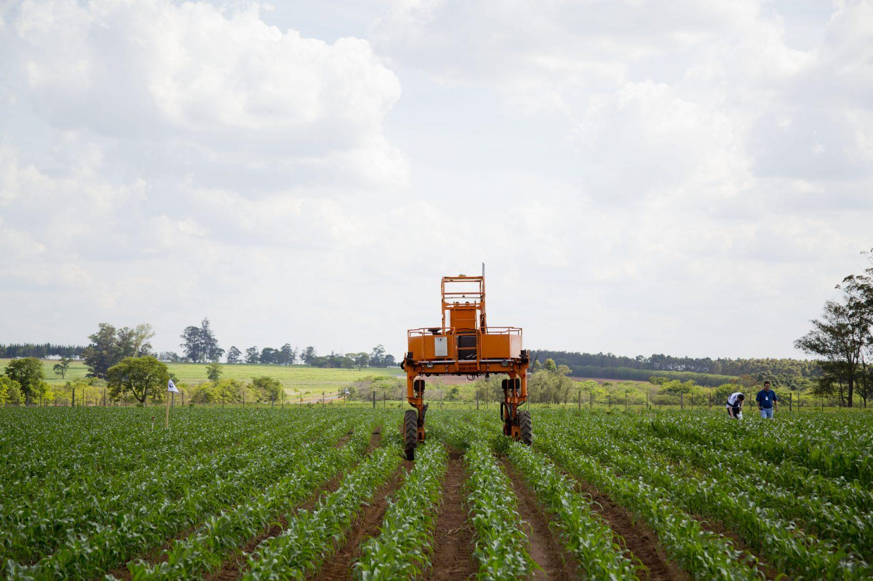 A tecnologia é aliada da produtividade na agricultura brasileira (foto luiza stalder/Embrapa)