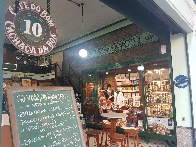 Café do Bom, outra das atrações da Rua da Carioca (Foto Oscar Valporto)