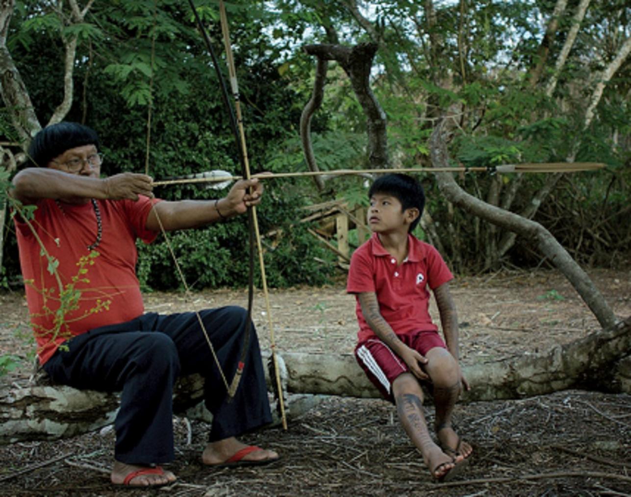 Perpera, o ex-pajé dos Paiter Suruí,, povo indígena de Rondônia que foi evangelizado no final do anos 60. Foto de divulgação