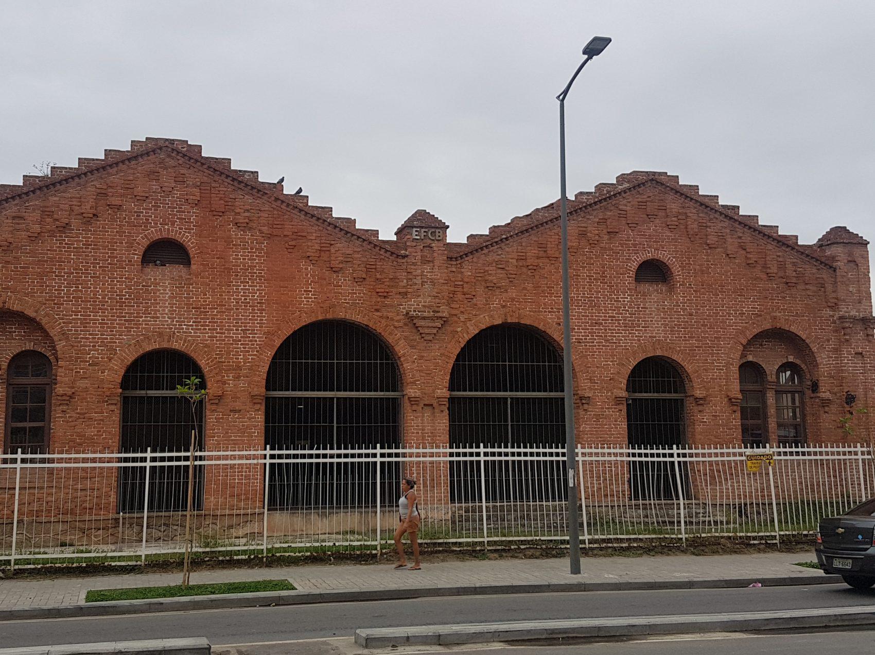 Estação Marítima da Gamboa: (hoje Vila Olímpica (Foto Oscar Valporto)