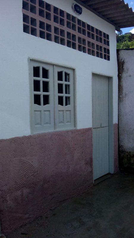 A casa onde Bianca morou menos de 30 dias, construída com os R$ 20 mil das doações. Foto Victor Jucá