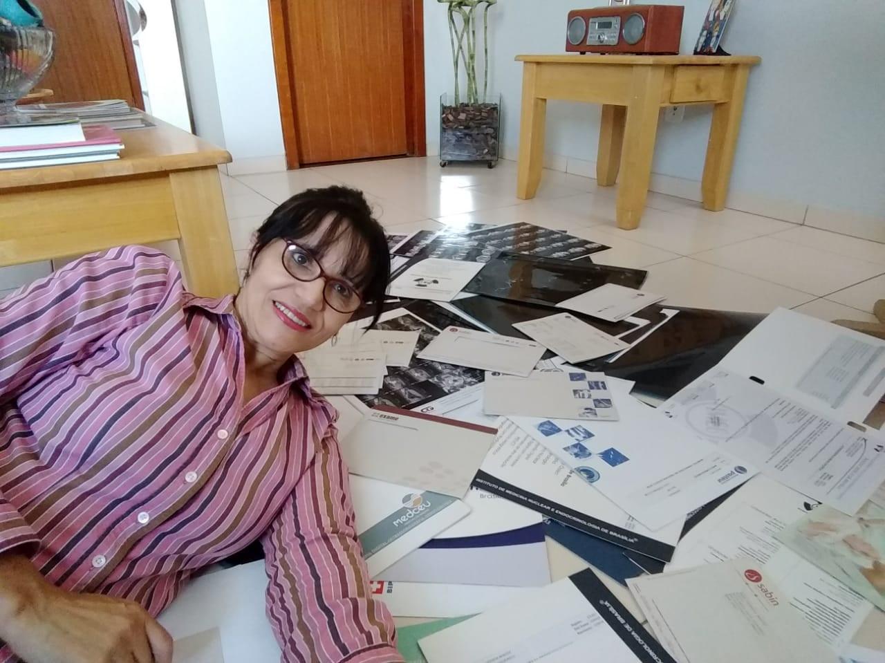 Flora fez uma bateria de exames sem conclusão. Médicos brasileiros não conheciam a doença. Foto Arquivo Pessoal