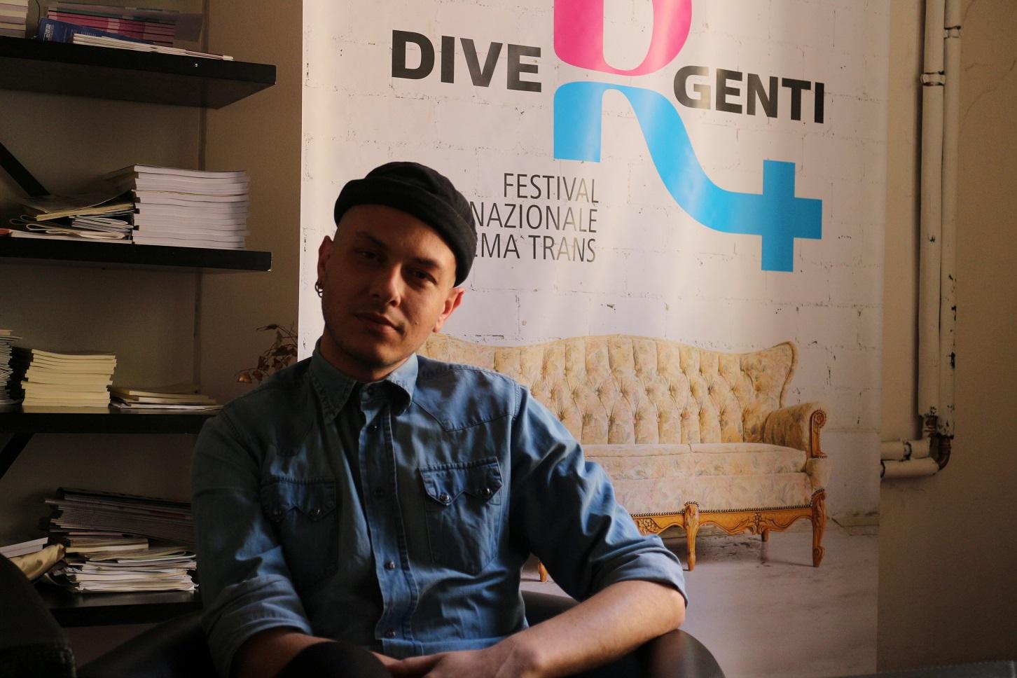 """Mario di Martino, vice presidente do Movimento identità transessuale: """"O sistema não é preparado para acolher refugiados LGBT"""". Foto Janaína Cesar"""