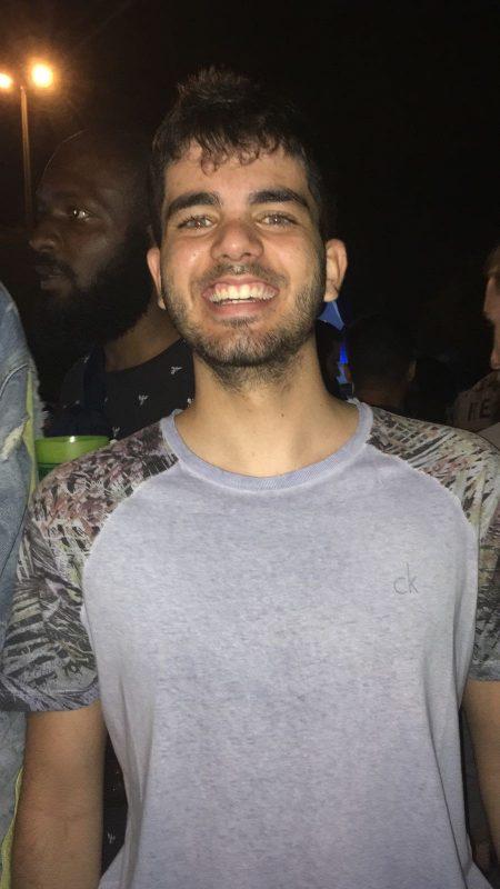 Guilherme Guimarães Lacerda, estudante de Engenharia de Software, também está no curso de Felicidade. Foto Arquivo Pessoal