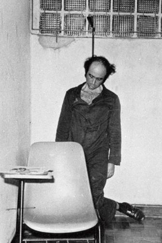 Imagem do jornalista Vladimir Herzog morto no DOI-CODI de São Paulo. Reprodução Wikipédia