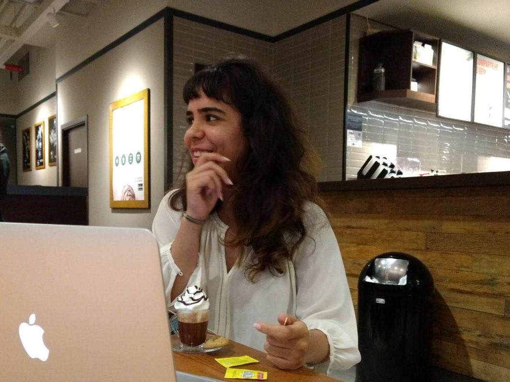 Yasmin Romi, estudante de engenharia da computação: militância pela inclusão cada vez maior de mulheres na área tecnológica. Foto: Divulgação