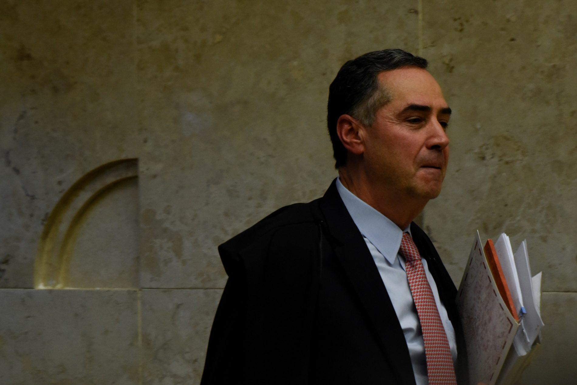 O minstro do STF Luís Roberto Barroso: reconhecido nas ruas,