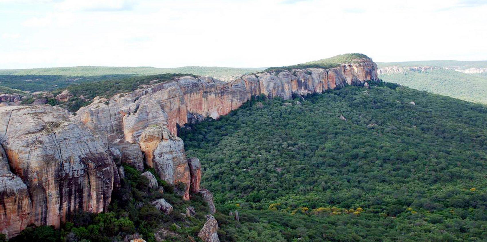Parque da Serra da Capivara: falta dinheiro para manutenção e conservação (Foto Joaquim Neto/ FUMDHAM / AFP)