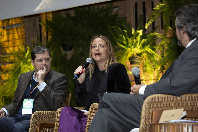 Gabriela Wurcel, vice-presidente de Assuntos Corporativos da Philip Morris International, fala sobre o futuro sem cigarro. Foto Ulisses Matandos