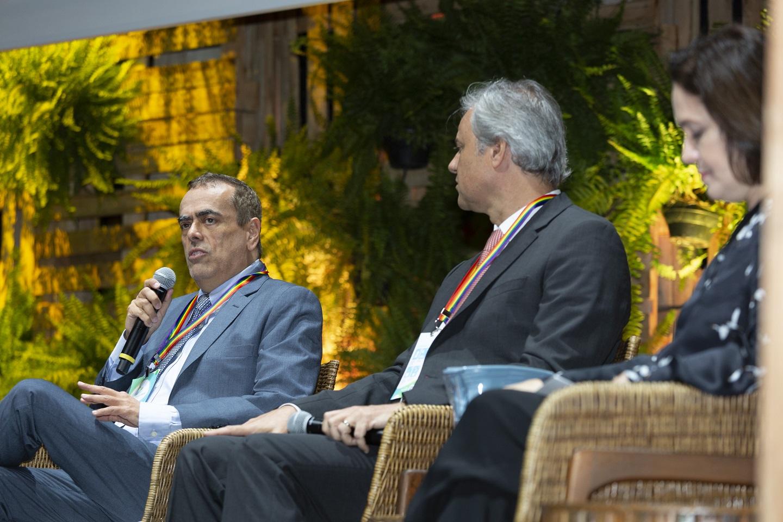 André Lopes de Araújo, presidente da Shell Brasil, prevê que o pico do setor de petróleo irá até 2020, no máximo. Foto Ulisses Matandos